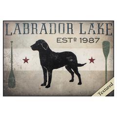 Labrador Lake Wall Art