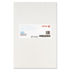 Xerox Revolution Premium Never Tear Paper, 12 x 18, 7.7 mil, White, 50 Sheets/PK