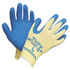 Honeywell Tuff-Coat II Gloves, Blue/White, Large, Pair