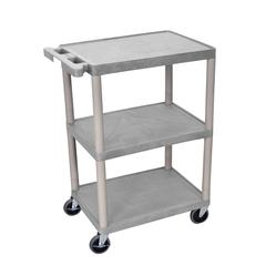 3 Shelf Gray Cart
