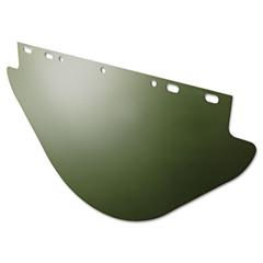 Unbound Visor For FibreMetal Frames, Dark Green, 19w x 9 3/4h