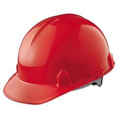 JACKSON SAFETY SC-6 Head Protection, 4-pt Ratchet Suspension, Red