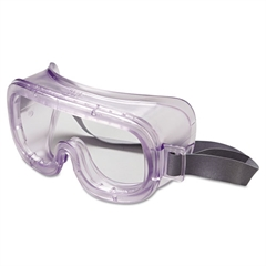Uvex Classic Safety Goggles, Antifog/Uvextreme Coating, Clear Frame/Clear Lens