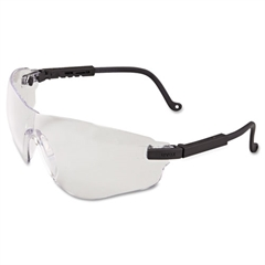 Falcon Eyewear, Black Frame, Clear XTR Lens
