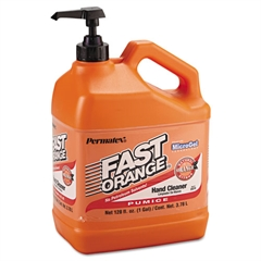 Permatex Fast Orange Pumice Lotion Hand Cleaner, 1gal Bottle
