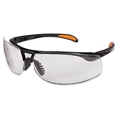 Uvex Protege Safety Glasses, UV Extra AF Coated Clear Lens