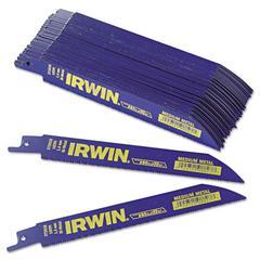 IRWIN Bi-Metal Reciprocating Saw Blade, 6in, 18Tpi, Metal-Cutting