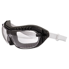 Uvex Fury Goggles, Black Frame