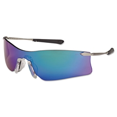 Crews Rubicon Protective Eyewear, Emerald Lens