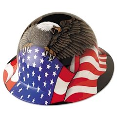 Fibre-Metal by Honeywell Hard Hat, Spirit Of America, Thermoplastic