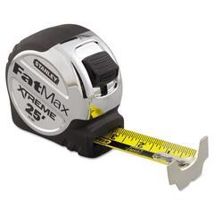 Stanley Tools FatMax Blade Armor Reinforced Tape Measure, 1 1/4in x 25ft