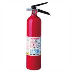 Kidde ProLine Pro 2.5 Multi-Purpose Dry Chemical Fire Extinguisher, 4.2lb, 1-A, 10-B:C