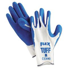 Premium Latex-Coated String-Knit Gloves, Medium