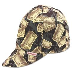 Comeaux Deep Round Crown Cap, Size: 7 5/8, Assorted Prints