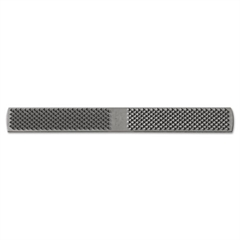 American Pattern Rectangular Plain 1/2-Horse Rasp File, 14in