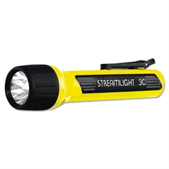 Streamlight ProPolymer Flashlight, Xenon Bulb, Yellow, 3C (sold sep)