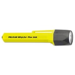 MityLite 2340 Flashlight, 2-AA, Yellow