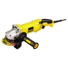 "DeWalt D28065 High-Performance Angle Grinder, 5"" to 6"" Wheel, 2.3hp, 9000rpm"