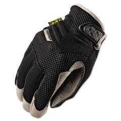 Padded Palm Gloves, Black, XL