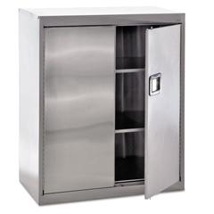 Sandusky Lee Stainless Steel Storage Cabinet, 36w x 18d x 42h