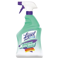 Professional LYSOL Brand Antibacterial Kitchen Cleaner, 32oz Spray Bottle