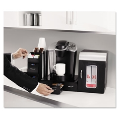 "Mind Reader Breakroom Coffee Organizer, 23"" x 15 1/2"" x 15 1/2"""