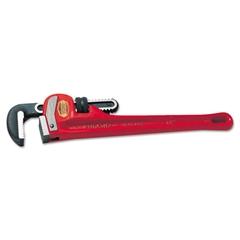 """RIDGID Heavy-Duty Steel Straight Pipe Wrench, 48"""" Long"""