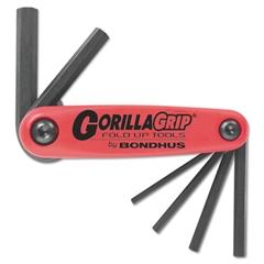 GorillaGrip Fold-Up Tool Set, 1.5mm-6mm