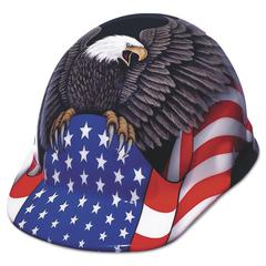 Fibre-Metal by Honeywell SuperEight Hard Cap, Thermoplastic, Spirit of America