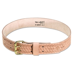 Heavy-Duty Embossed Tool Waist Belt, Large