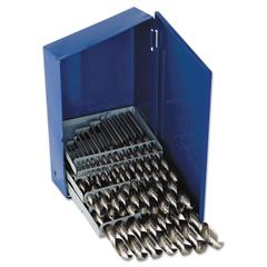 29-Piece Fractional High-Speed Steel Drill Bit Set