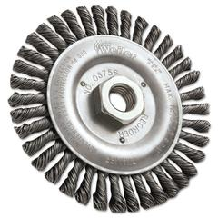 "Dualife STB-538 Stringer Bead Twist Knot Wire Wheel, 5"" dia"