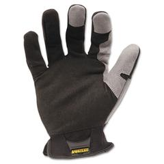 Ironclad Workforce Glove, Large, Gray/Black, Pair