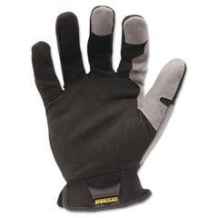 Workforce Glove, Large, Gray/Black, Pair