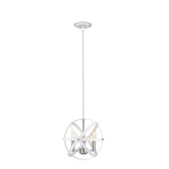 2 Light Flush Mount, Matte Black + Chrome and Clear Seedy