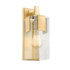 1 Light Wall Sconce, Vintage Brass