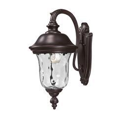 4 Light Flush Mount, Olde Brass + Bronze and ---