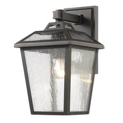 5 Light Chandelier, Bronze and Clear Seedy