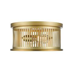 Camellia Flush Mount, Brass