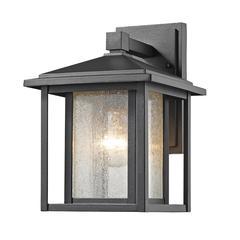 1 Light Outdoor Black