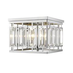 Mersesse Flush Mount, Chrome