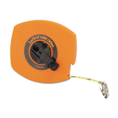 "Hi-Viz Universal Lightweight Measuring Tape, 3/8"" x 100ft, Orange"