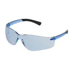 Crews BearKat Protective Eyewear, Blue Lens