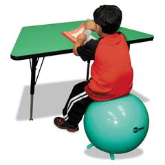 FitPro Ball with Stability Legs, 42 cm, Green
