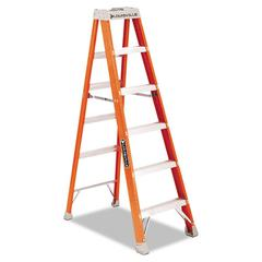 Louisville FS1500 Series Fiberglass Step Ladder, 6ft