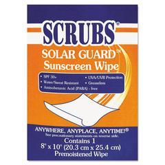 SCRUBS Solar Guard Sunscreen Towels