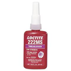 222MS Low Strength/Small Screw Threadlocker, 50mL