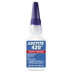 420 Super Bonder Instant Adhesive, Cyanoacrylate, Wicking