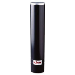 Igloo Cup Dispenser, 7oz, Black Plastic