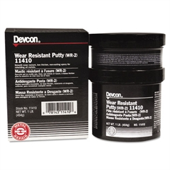 Devcon WR-2 Wear Resistant Putty, 1lb